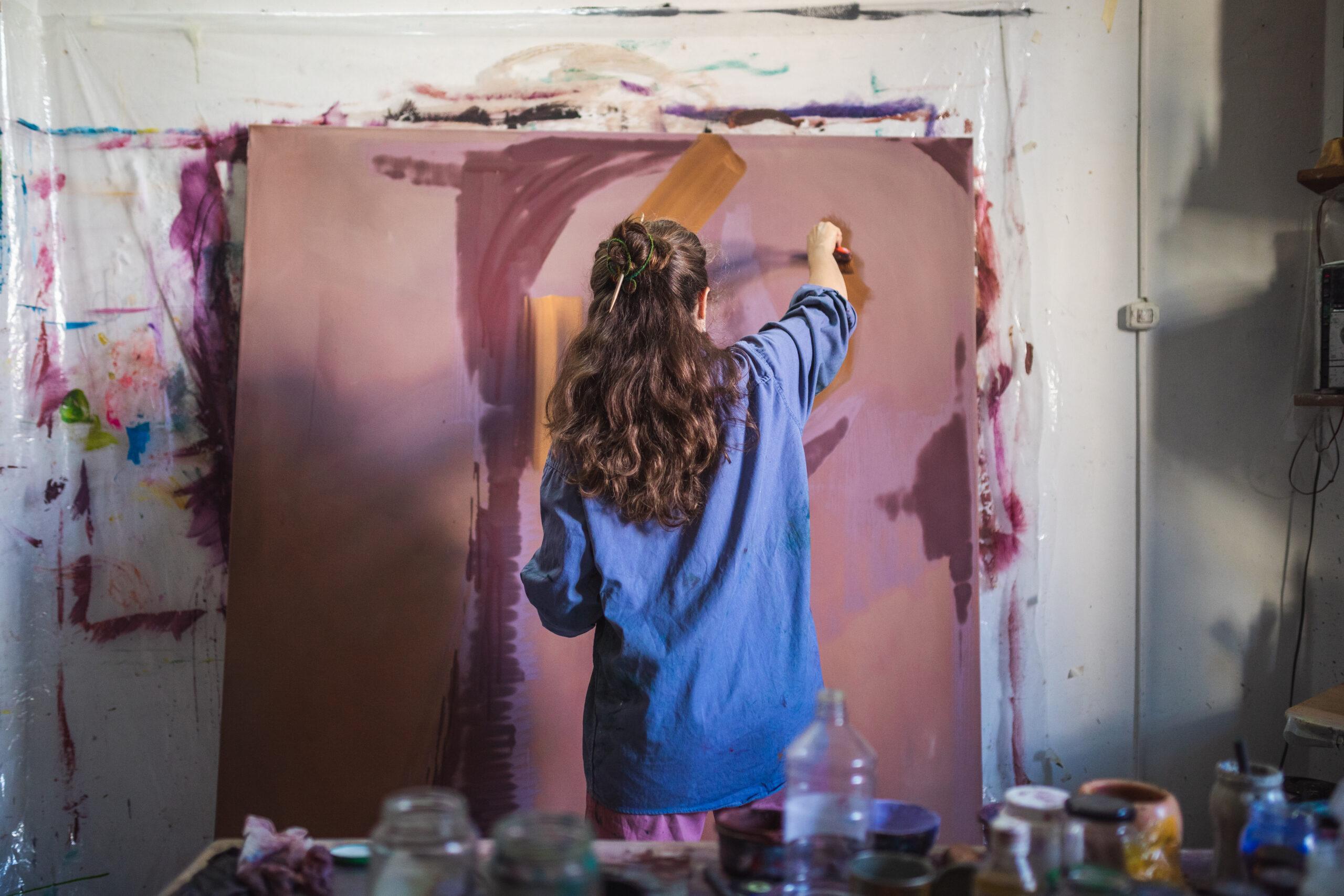 Lucía Sorans Studio Visit